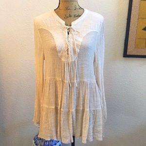Gorgeous, new tiered boho tunic/dress